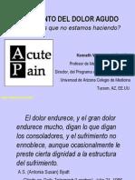Acute Pain Management-tratamiento Del Dolor Agudo