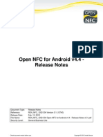 REN_NFC_1202-304 Open NFC for Android v4.4 - Release Notes v0.1