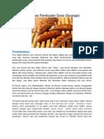 Bagaimana Proses Pembuatan Sosis