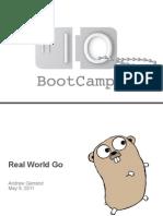 Real World Go Programming