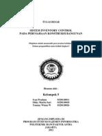 Laporan Tugas Besar Kelompok 5 (Flowchart, DFD, ERD, CDM, PDM)