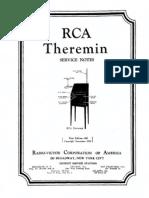 1929_RCA Theremin Service Manual