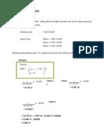 Contoh Pengiraan NKB (NPV) KPD (IRR) Dan TBB