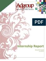 Internship Report ADGroup