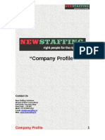 Company Profile - Newstaffing