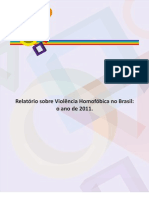 RELATORIO PESQUISA SEDH_PR VIOLÊNCIA HOMOFOBICA 2011
