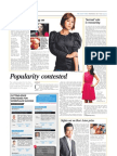 The Straits Times Life! - Interviews with Mediacorp artistes, Pierre Png, Cynthia Koh and Rebecca Lim