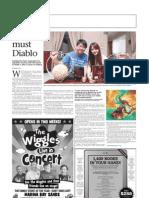 The Sunday Times - Die Die Must Diablo - fans reacting to the launch of Diablo 3