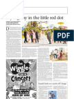 The Sunday Times - More foreign couples coming to Singapore to get married