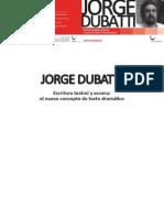 Escritura teatral t escena - Jorge Dubatti_Publicación MEC
