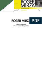 Teatro y violencia - Roger Mirza_Publicación MEC