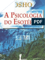 A Psicologia do Esotérico - Osho