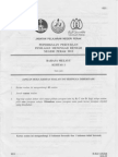 Bahasa Melayu 1 (Perak's PMR Trial 2012)
