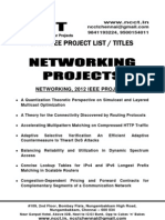 Ieee Projects, Ieee Projects on Networking