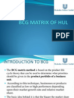 BCG Matrix Hindustan Unilever Limited