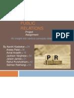 Pubilc Relations Basics