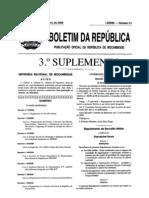 Decreto Do Conselho de Ministros n 82/2009 MOCAMBIQUE