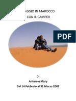 Marocco in Camper 2007