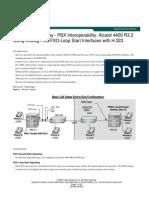 Alcatel 4400 Using Analog FXS FXO