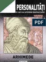 008. 100 Personalitati care au schimbat destinul lumii - Arhimede