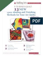 QA Quilt Binding Methods