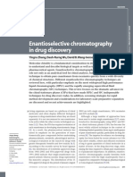 Enantioselective Chromatography in Drug Discovery