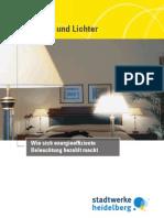 Stadtwerke Heidelberg, Wie sich energieeffiziente Beleuchtung bezahlt macht