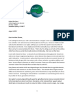 Protect the Flows Letter to President Obama