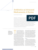 Antibiotic Medicaments Review