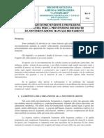 D-prevenzione Movimentazione Pazienti