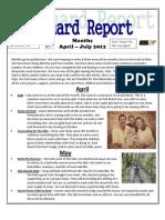 April -July2012 Newsletter