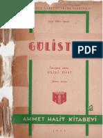 Gülistan tercümesi