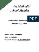 Add Maths Folio