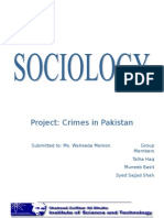 Crimes Pakistan