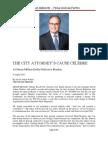 Miami Beach City Attorney' Jose Smith's Cause Celebre