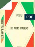 Langue Italien Hachette Les Mots Italiens (20 000) S. Camugli - G. Ulysse