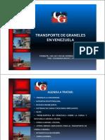 Transportes Graneles en Venezuela Tendencias 2012