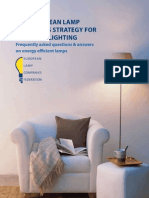 European Lamp Companies Federation, The European Lamp Industry's Strategy for Domestic Lighting