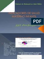 Indicadores de Salud Materno Infantil