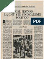 Angel Pestaña, la CNT y el sindicalismo politico