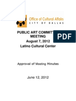 Public Arts Committee August 7 Presentation.ppt