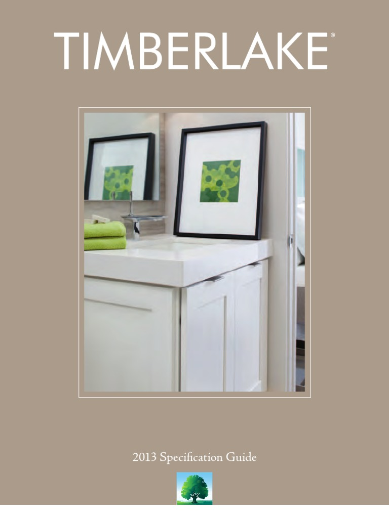 2013 Timberlake Specification Guide | Cabinetry | Door