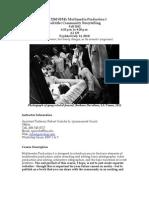 Gutsche Multimedia I Fall 2012 7-14