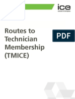 ICE Routes to Technician Membership
