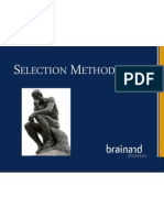Selection Methodology (New Version)