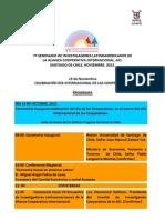 Programa ACI 2012
