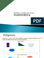 Polígonos regulares inscritos na circunferencia
