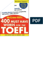 400 Must-have Words For The Toefl 2nd Edition Pdf