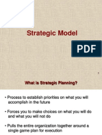 1 Strategic Planning Model