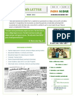 India Sudar News Letter - 2012'March